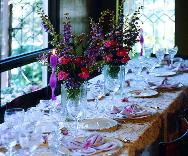 carmel valley california - fine table setting rental